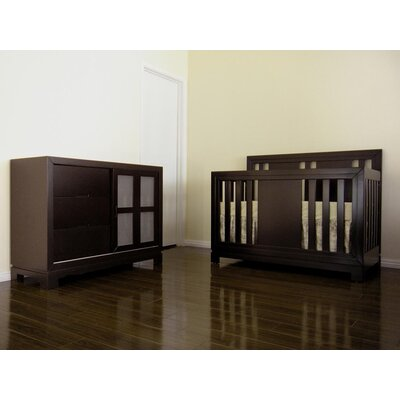 Eden Baby Furniture Melody 4-in-1 Convertible Crib Set