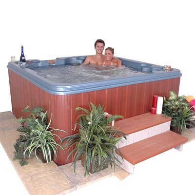 QCA Spas Jamaica 7 Person 60 Jet Non-Lounger Spa