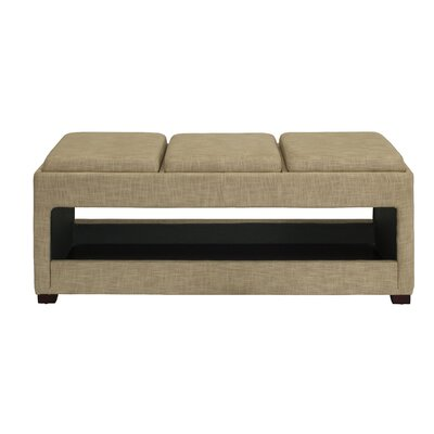 dCOR design Open Triple Wood Bench