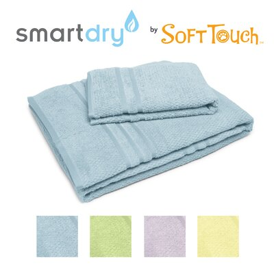 "Soft Touch ""Popcorn"" Textured Smart Dry Pet Towel Set"