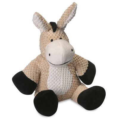 Go Dog Checkered Donkey Dog Toy