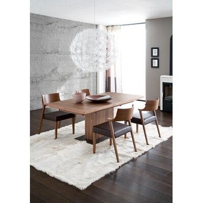 Vita Dining Table with Optional Lirica Chairs and Verve-2c Sideboard