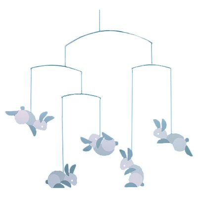 Flensted Mobiles Circular Bunnies Mobile