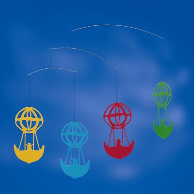Flensted Mobiles Hans Christian Andersen Balloons Mobile in Colored