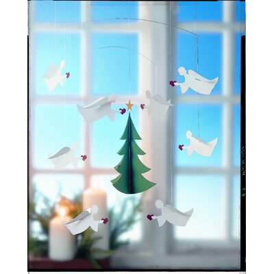 Flensted Mobiles Eight Christmas Angels of Love Mobile