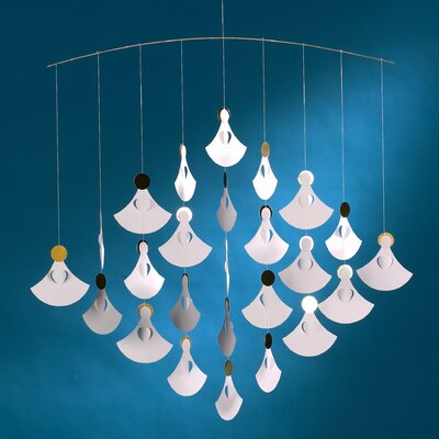 Flensted Mobiles Christmas Angel Chorus Mobile