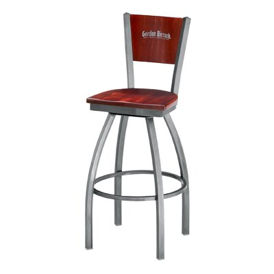 Grand Rapids Chair Melissa Anne Custom Back Swivel Barstool