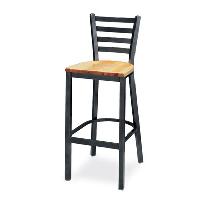 "Grand Rapids Chair Melissa Anne Ladder Back Barstool (24"" - 36"" Seats)"