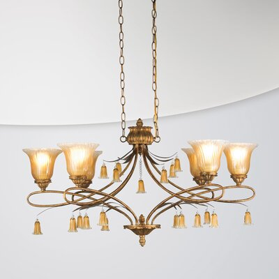 Eurofase Sorrento 6 Light Chandelier