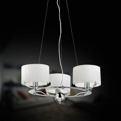 Eurofase Quinn 3 Light Chandelier