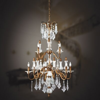 Eurofase Adivina 9 Light Chandelier