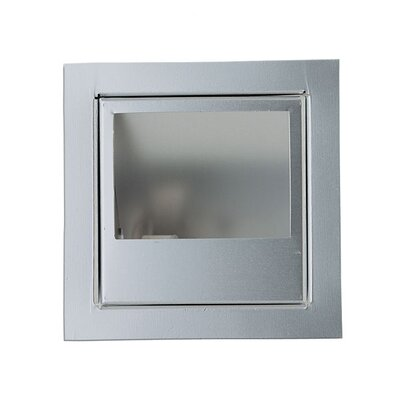 Eurofase In-Wall One Light Square Recessed in Platinum