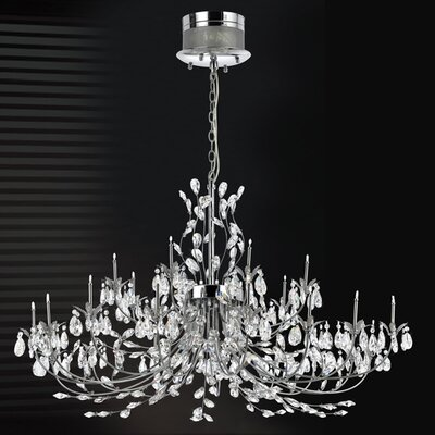 Eurofase Gissele 24 Light Chandelier