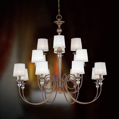 Eurofase Locksley 16 Light Chandelier