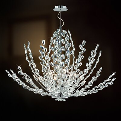 Eurofase Filigree 12 Light Foyer Pendant