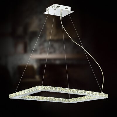 Eurofase Cronos 28 Light Square Foyer Pendant