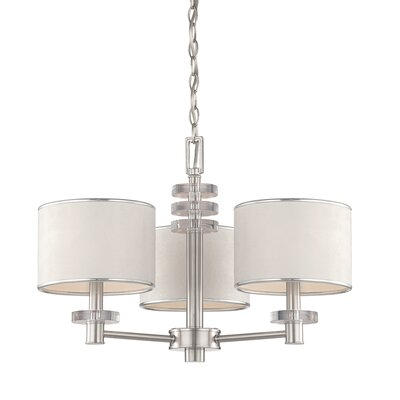 Savvy 3 Light Chandelier