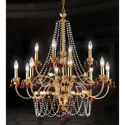 Eurofase Ambroise 12 Light Chandelier
