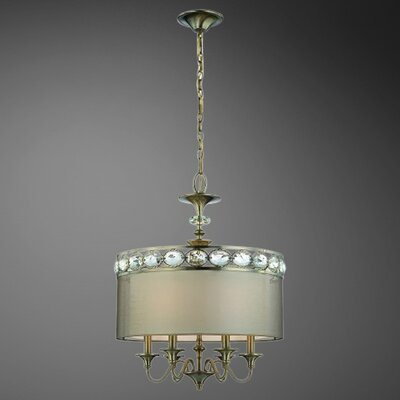 Eurofase Bijoux 9 Light Drum Pendant