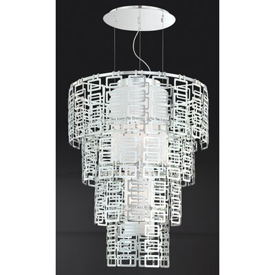 Eurofase Razel 4 Light Convertible Drum Pendant