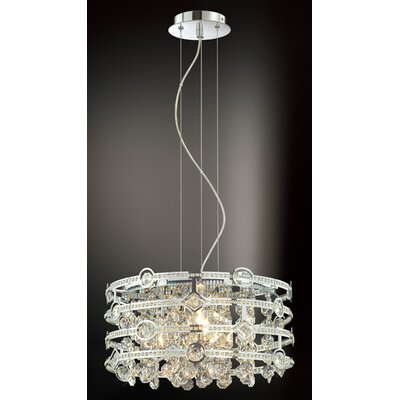 Eurofase Mica 4 Light Drum Pendant