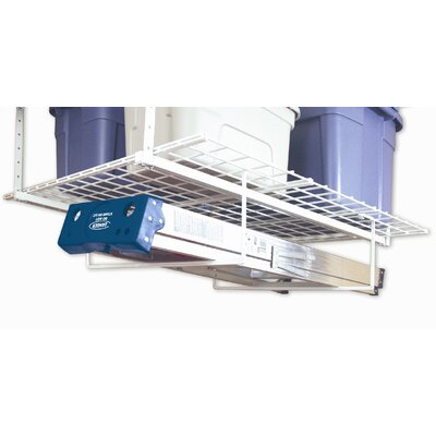 Hyloft Add-on Storage Rack, Tool and Ladder Hanger in White