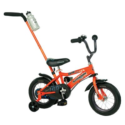 Schwinn Boy's Juvenile Grit Bike with Training Wheels