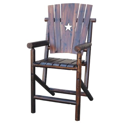 United General Supply CO., INC Bar Arm Chair with Star