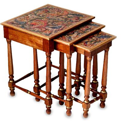Andean Garden 3 Piece Nesting Tables