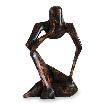 Novica 'Power of the Mind' Sculpture