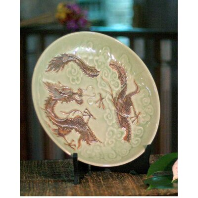 Novica Dragon Journeys Plate