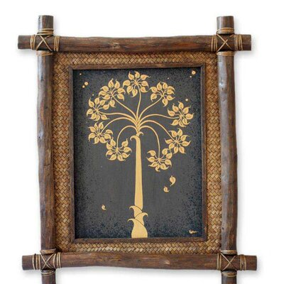 Novica 'Golden Bo Tree' Wall Art