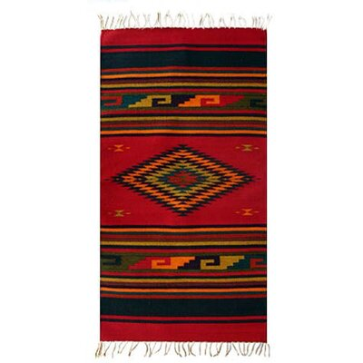 Novica Natures Colors Zapotec Rug