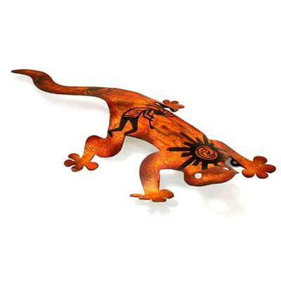 Novica Cave Art Gecko Wall Adornment