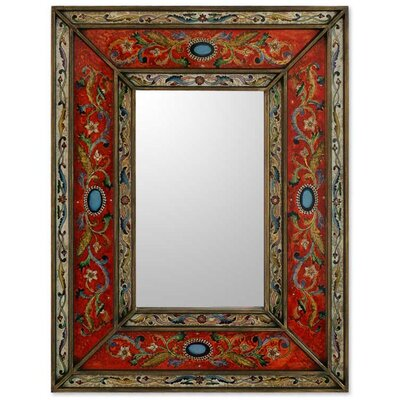Cajamarca Warmth Mirror in Red
