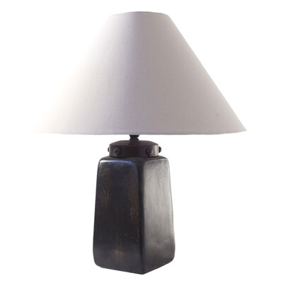 Novica Raul Fuenzalida Artisan Obelisk Light Ceramic Table Lamp
