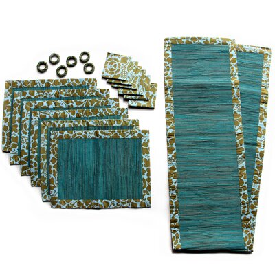 Andrea Philips and Nyoman Suma Artha Artisan Cotton and Natural Fibers Table Set (Set of ...