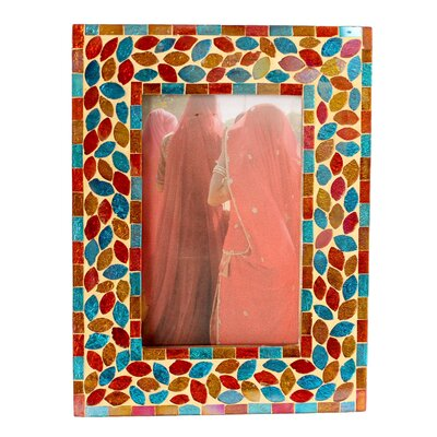 Kamal Artisan Diwali Muse Glass Photo Frame