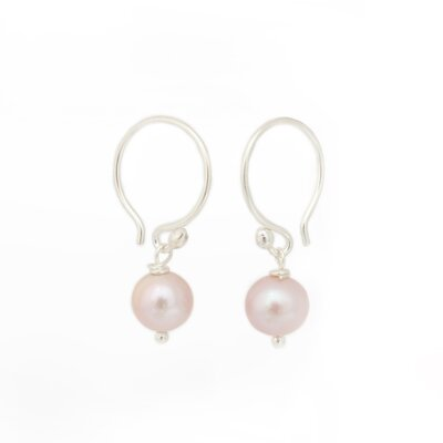 The Khun Boom Artisan Ocean Love Cultured Pearl Dangle Earrings
