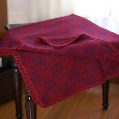Novica Glyphs Wool / Acrylic Throw Blanket