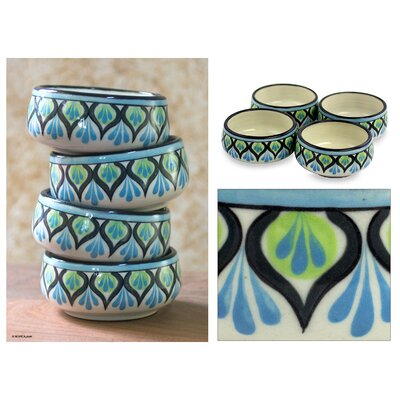 Novica The Roberto Perez Ceramic Soup Bowl (Set of 4)