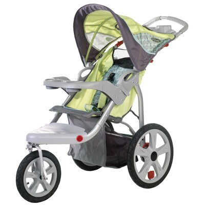 InSTEP Safari Swivel Wheel Single Stroller