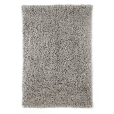 nuLOOM Flokati Natural Grey Kids Rug