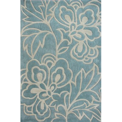 Cine Lotus Blue Rug