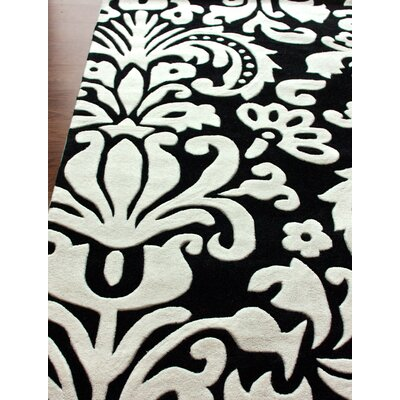 nuLOOM Pop Paris Black/White Rug