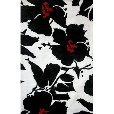 nuLOOM Pop Amore Black/White Rug