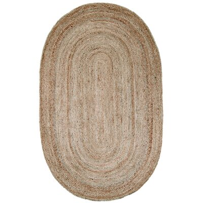 Natura Jute Braided Natural Contemporary Rug
