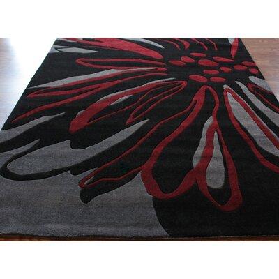 nuLOOM Barcelona Black Rug