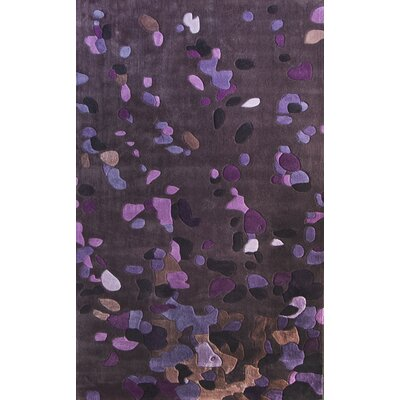 nuLOOM Cine Splash Purple Rug