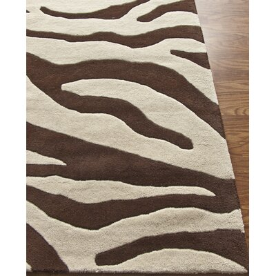 nuLOOM Earth Safari Brown Rug